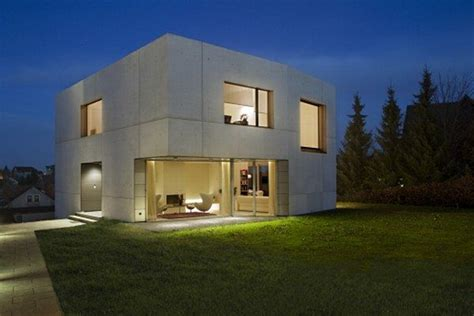 beautiful concrete house from atelier st freshome