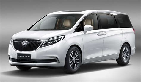 luxury minivan buick previews all 2017 gl8 luxury minivan for china