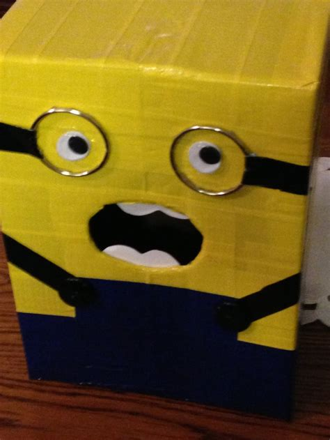 minion valentines day box 114 best images about minion birthday on
