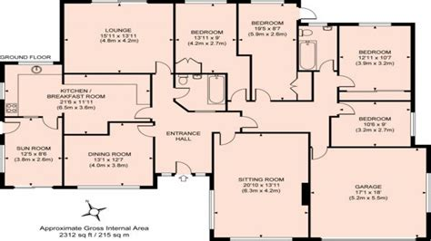floor plans for a 4 bedroom house bungalow floor plans modern house