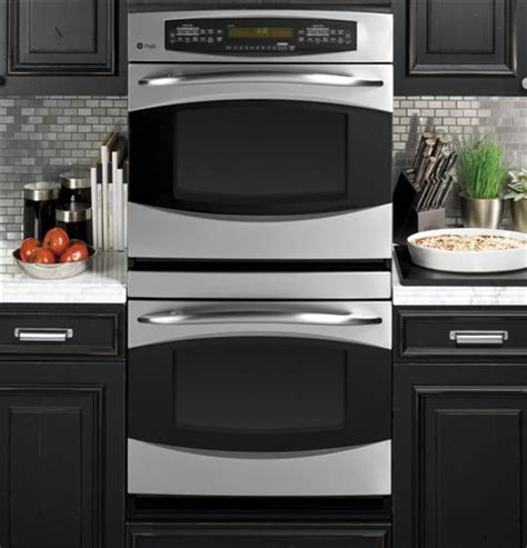ge profile kitchen appliances ge profile 30 quot built in double convection wall oven