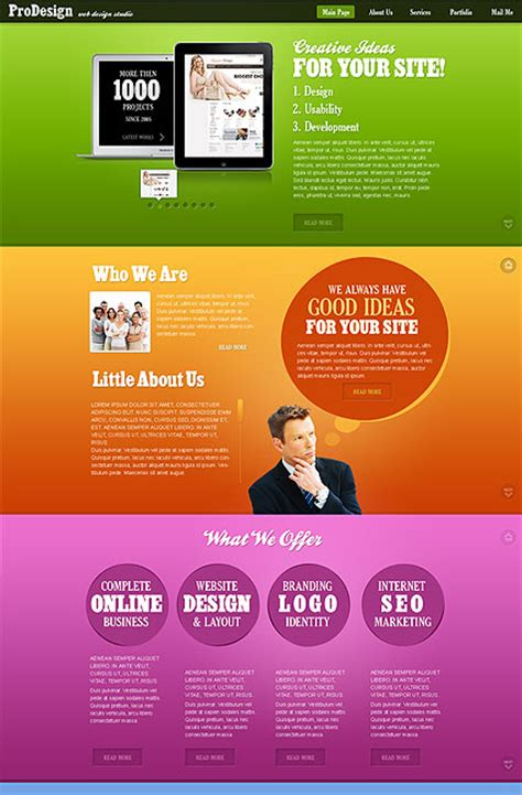 Best Design Html5 Template Best Design Templates