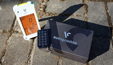 swing caddie swing caddie launch monitor review