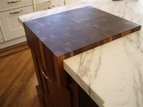 how to make an end grain butcher block end grain wood countertops by custom