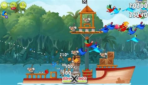 angry birds rio mod cho android angry birds rio v2 6 7 android apk hack mod download