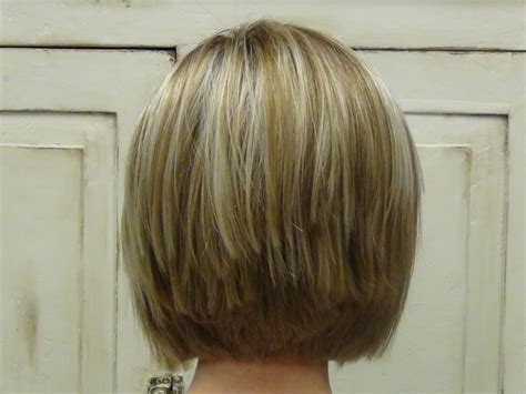back of haircuts shoulder stacked bob hairstyles back view beautiful short stacked