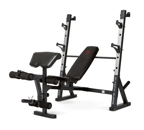 marcy workout bench marcy diamond olympic surge multipurpose home gym workout weight bench md857 ebay