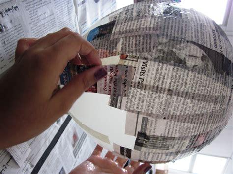 How To Make Paper Mache Balloon - papier mache vases in grade seven alejandra chavez