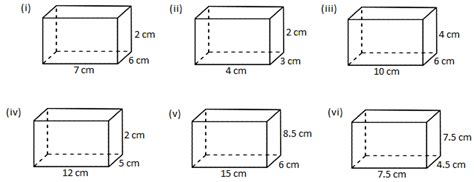 Finding Volume Worksheets by Worksheet On Volume Of A Cube And Cuboid The Volume Of A