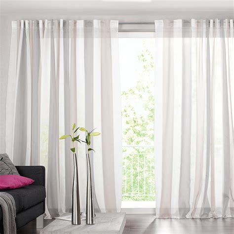 vorhang gestreift vorhang luca 1 st 252 ck vorh 228 nge kaufen das kavaliershaus