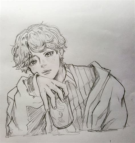 Kpop Sketches by Pin By Gea Ganal On Sketch Bts Fanart And Kpop