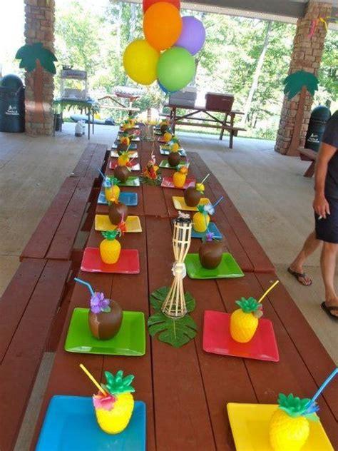 hawaiian themed games luau birthday party ideas