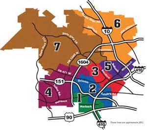 trustee district map northside independent school district