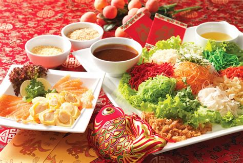 new year lo hei restaurant prosperity lo hei at villa suites subang