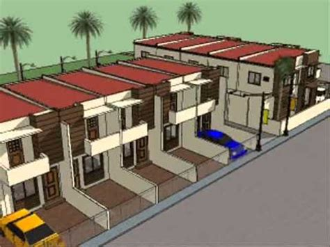 Small House Design Philippines by House Plan Designs Townhouses Youtube