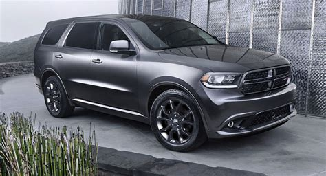 2018 durango black 2018 dodge durango will allegedly get a performance srt