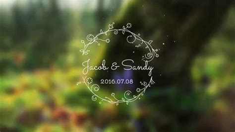 Wedding Titles After Effects Template Youtube Wedding Title Templates After Effects