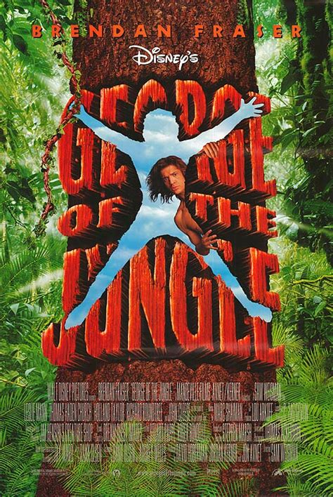 george of the jungle biggest swing george of the jungle movie posters at movie poster