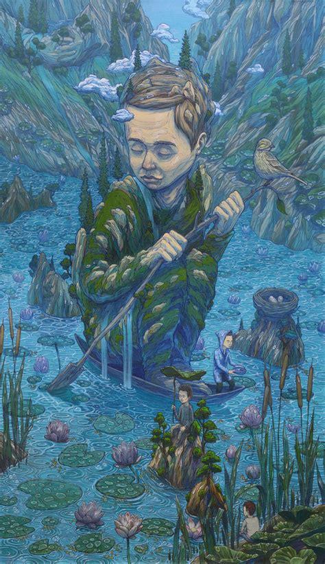 paintings  russian artist rustam qbic art people gallery