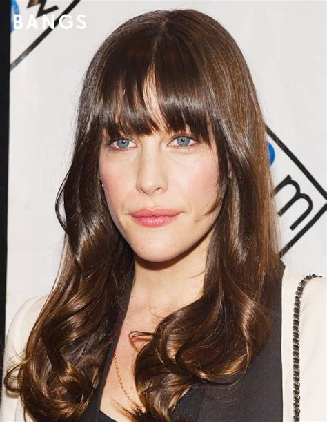 fringes for rectangular faces bangs are oh so flattering on oblong face shapes like live