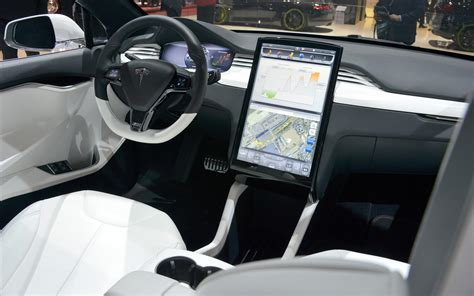 suv tesla inside tesla model x suv interiors
