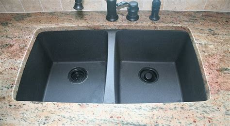 Granite Kitchen Sinks Pros And Cons Black Composite Kitchen Sink New Kitchen Style