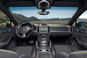 2015 Porsche Cayenne Interior The Stunning 2015 Porsche Cayenne Gts