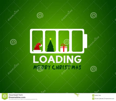 merry christmas web sale loading concept royalty  stock image image