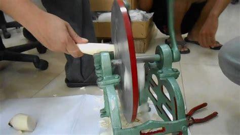 Alat Pemotong Keripik Ketela perajang singkong manual pengiris singkong manual