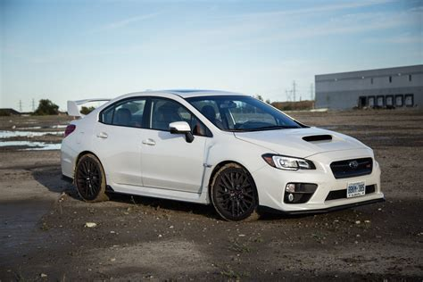 white subaru wrx review 2016 subaru wrx sti sport package canadian auto