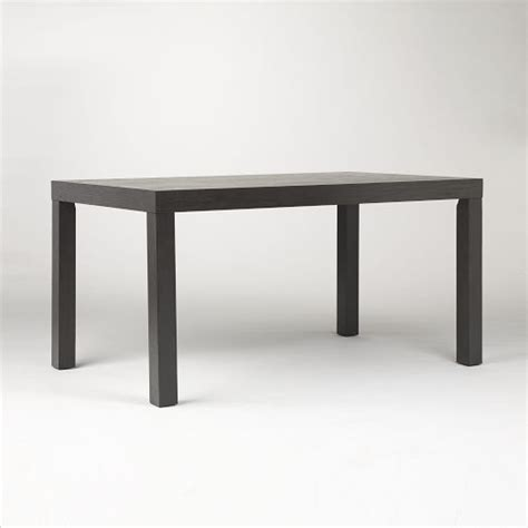 parsons kitchen table parsons dining table rectangle