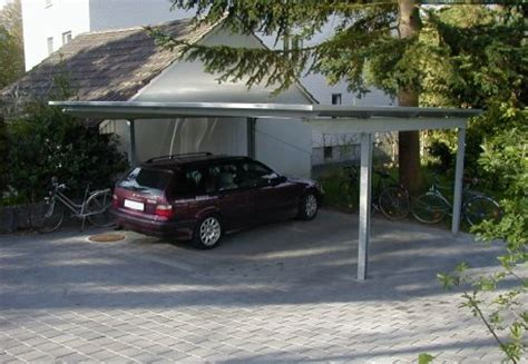 mobiler autounterstand abris voiture moderne trendy abri voiture en aluminium