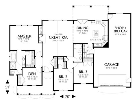 alan mascord floor plans alan mascord craftsman house plans house interior