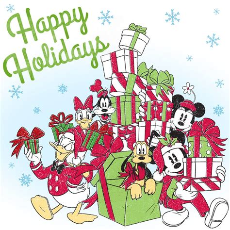 happy christmas images of heroines image mickey and happy holidays jpg disney wiki fandom powered by wikia