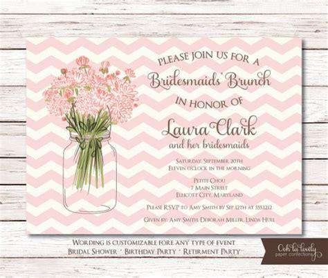 Diy Wedding Invitation Sles by Printable Wedding Brunch Invitations Chatterzoom