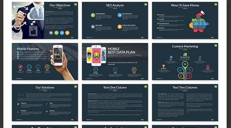best marketing presentation template 60 beautiful premium