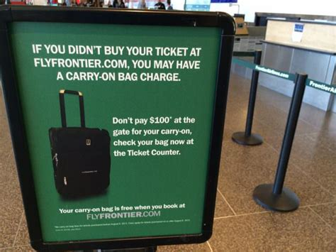 frontier carry on the david siegel scam how frontier airlines scams customers andrew hyde