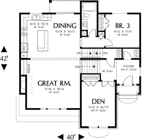 small split level home plans house design plans