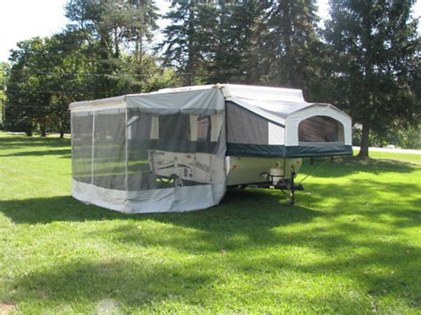 pop up awning new a e trimline zipper screen room only for 7 pop up awning on sale now ebay