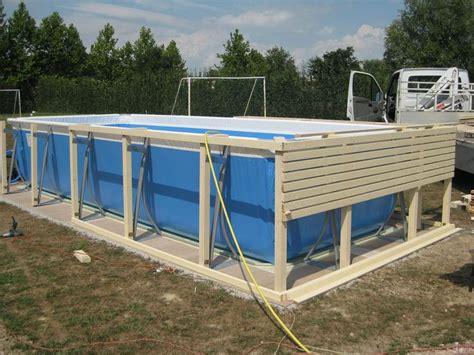piscine rivestite in legno oltre 25 fantastiche idee su piscine fuori terra su