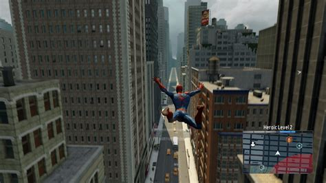 spiderman web swing game game review the amazing spider man 2 joe ie