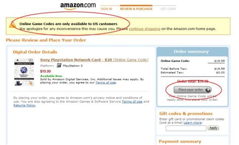 Amazon Gift Card Codes That Work - us psn cards how to purchase when you don t live in the us at face value wololo net