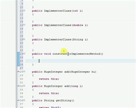 java tutorial youtube bucky java interface starting implementer class and constructor