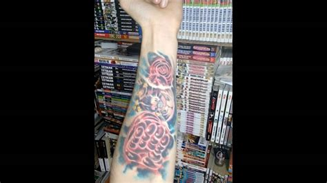 one piece character tattoo one piece luffy gear fourth tattoo youtube