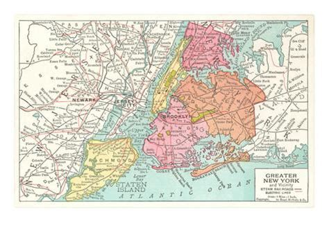 map of greater new york map of greater new york city prints allposters co uk
