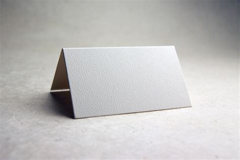 Paper Cards - die cut seed paper place cards