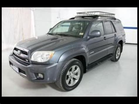 07 Toyota 4runner Sell Used 07 Toyota 4runner 2wd 4dr V8 Limited Leather