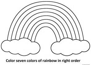 coloring pages coloring rainbow rainbow