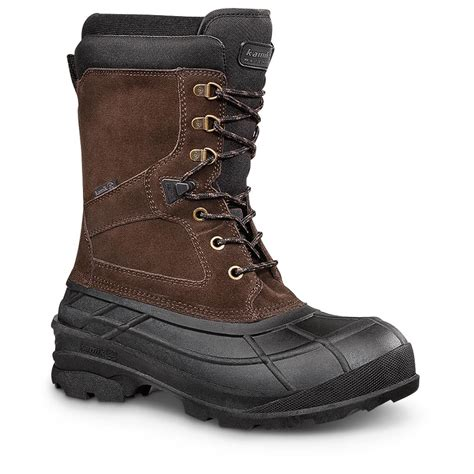 snow boots kamik s nationplus winter boots 609577 winter snow boots at sportsman s guide