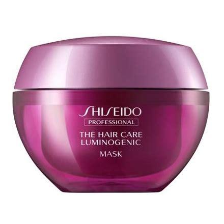 Shoo Shiseido Professional shiseido professional luminoforce mask shunji matsuo